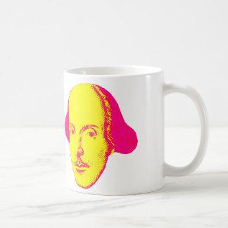 ウィリアム・シェイクスピアのポップアートのマグ コーヒーマグカップ