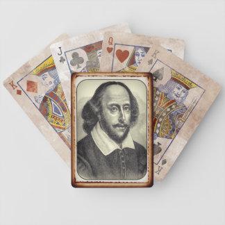 ウィリアム・シェイクスピアのポートレートカード バイスクルトランプ