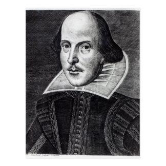 ウィリアム・シェイクスピアのポートレート ポストカード