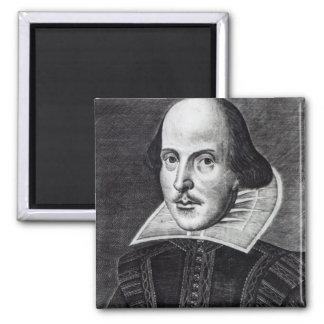 ウィリアム・シェイクスピアのポートレート マグネット