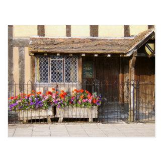 ウィリアム・シェイクスピアの出生地 ポストカード