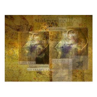 ウィリアム・シェイクスピアの芸術 ポストカード