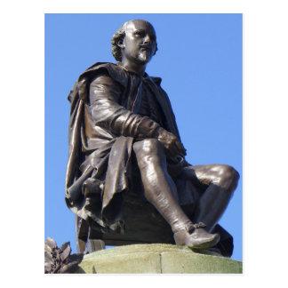 ウィリアム・シェイクスピアへのGowerの記念物 ポストカード