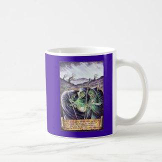 ウィリアム・シェイクスピアマクベスの魔法使いのマグ コーヒーマグカップ