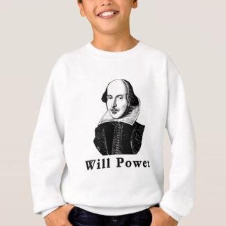 ウィリアム・シェイクスピア意志力のTシャツ スウェットシャツ