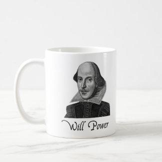 ウィリアム・シェイクスピア意志力 コーヒーマグカップ
