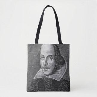 ウィリアム・シェイクスピア1623年 トートバッグ