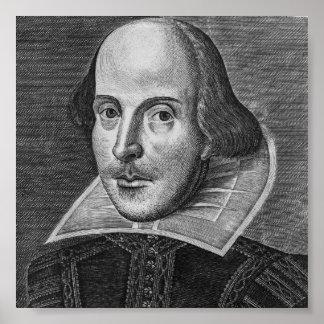 ウィリアム・シェイクスピア1623年 ポスター