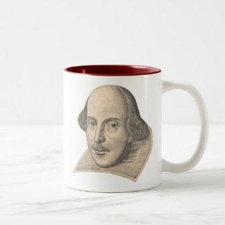 ウィリアム・シェイクスピア ツートーンマグカップ