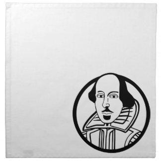 ウィリアム・シェイクスピア ナプキンクロス