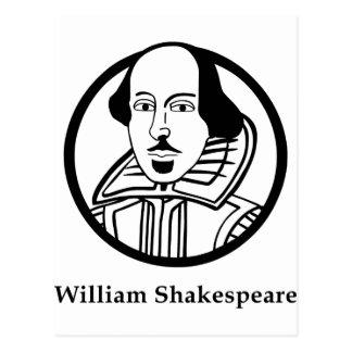 ウィリアム・シェイクスピア ポストカード