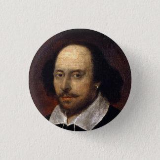 ウィリアム・シェイクスピア 缶バッジ