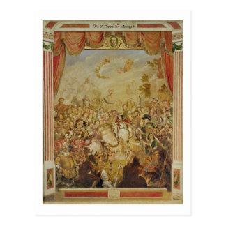 ウィリアム・シェイクスピア(1564-の初登場 ポストカード