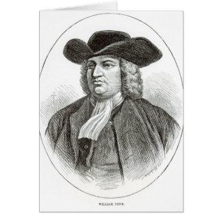 ウィリアム・ペンはJosiah木Whymperによって刻みました カード