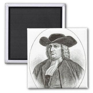 ウィリアム・ペンはJosiah木Whymperによって刻みました マグネット