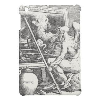 ウィリアム・ホガース著写真を煙らす時間 iPad MINIケース