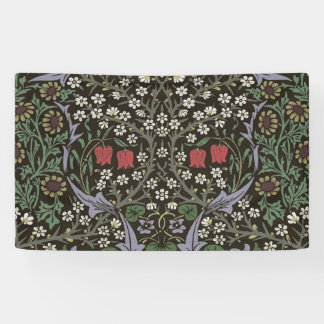 ウィリアム・モリスのりん木のタペストリーの芸術のプリント 横断幕