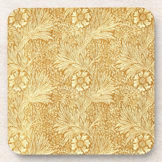 ウィリアム・モリスのエレガントな花模様 コースター
