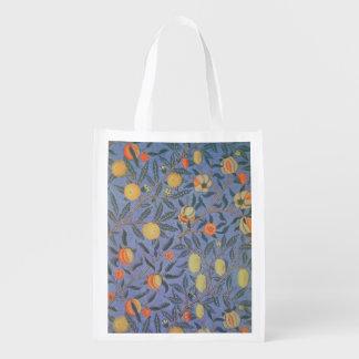 ウィリアム・モリスのザクロの花のヴィンテージのファインアート エコバッグ