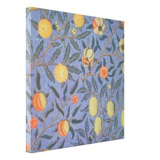 ウィリアム・モリスのザクロの花のヴィンテージのファインアート キャンバスプリント