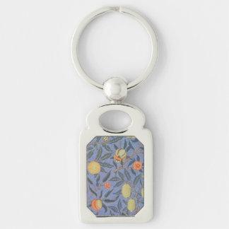 ウィリアム・モリスのザクロの花のヴィンテージのファインアート キーホルダー