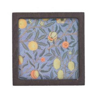 ウィリアム・モリスのザクロの花のヴィンテージのファインアート ギフトボックス