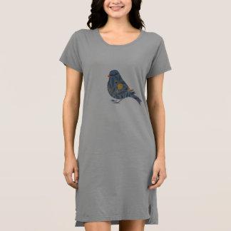 ウィリアム・モリスのザクロの花のヴィンテージの鳥の芸術 ドレス