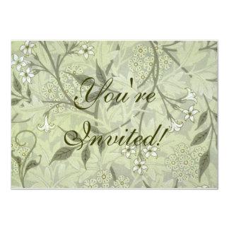 ウィリアム・モリスのジャスミンの壁紙 カード