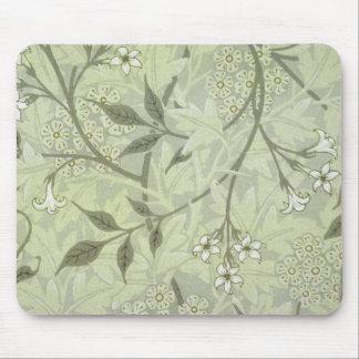 ウィリアム・モリスのジャスミンの壁紙 マウスパッド