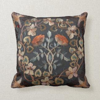 ウィリアム・モリスのデザインの枕 クッション