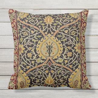 ウィリアム・モリスのペルシャ絨毯の芸術のプリントのデザイン アウトドアクッション