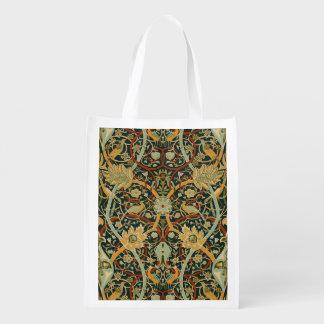 ウィリアム・モリスのペルシャ絨毯の芸術のプリントのデザイン エコバッグ