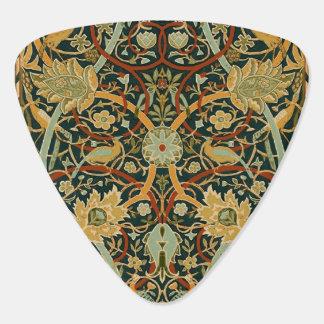 ウィリアム・モリスのペルシャ絨毯の芸術のプリントのデザイン ギターピック