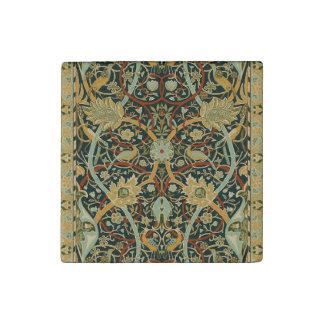 ウィリアム・モリスのペルシャ絨毯の芸術のプリントのデザイン ストーンマグネット