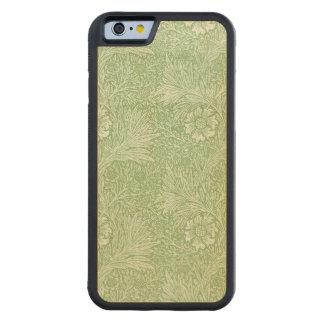 ウィリアム・モリスのマリーゴールド(緑) CarvedメープルiPhone 6バンパーケース