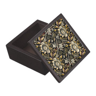 ウィリアム・モリスの暗い花のアラベスク ギフトボックス