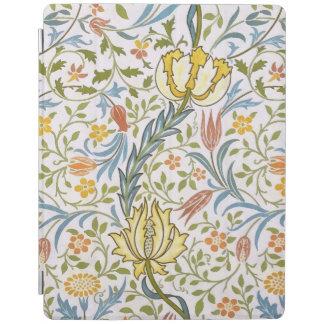ウィリアム・モリスの植物相のヴィンテージの花柄アールヌーボー iPadスマートカバー