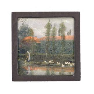ウィリアム・モリスの池はMertonの大修道院で働きます( ギフトボックス