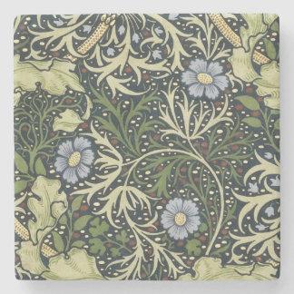 ウィリアム・モリスの海藻パターン花のヴィンテージの芸術 ストーンコースター