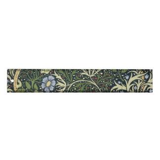 ウィリアム・モリスの海藻パターン花のヴィンテージの芸術 定規
