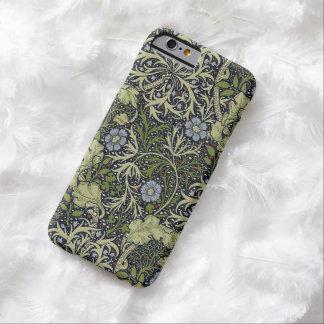 ウィリアム・モリスの海藻パターン花のヴィンテージの芸術 BARELY THERE iPhone 6 ケース