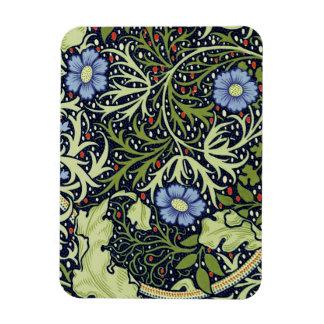 ウィリアム・モリスの海藻壁紙パターン マグネット