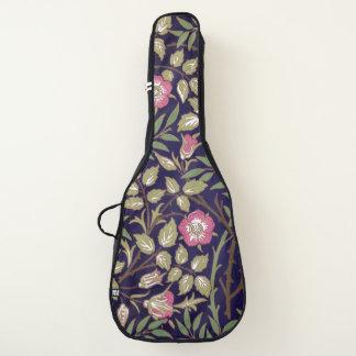 ウィリアム・モリスの甘いイバラの花柄アールヌーボー ギターケース