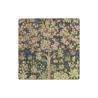 ウィリアム・モリスの生命の樹 ストーンマグネット