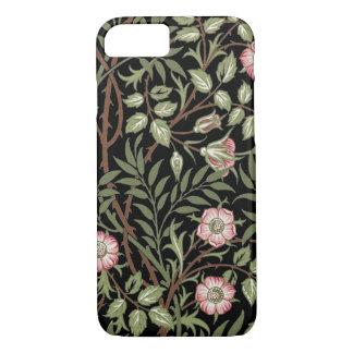 ウィリアム・モリスの織物パターンiPhone 7の場合 iPhone 8/7ケース