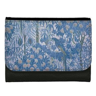ウィリアム・モリスの芸術および技術の青の財布