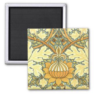 ウィリアム・モリスの豊富な花パターン マグネット