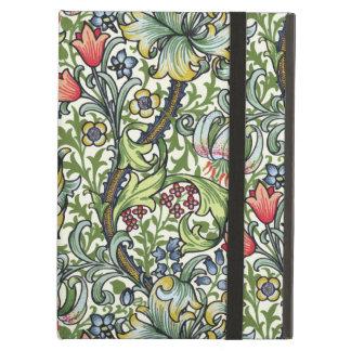 ウィリアム・モリスの金ユリの花のChintzパターン