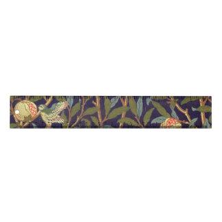 ウィリアム・モリスの鳥およびザクロのヴィンテージの花柄 定規