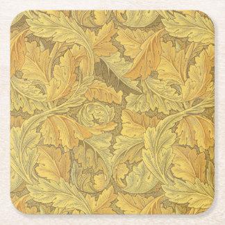 ウィリアム・モリスのAcanthusの壁紙 スクエアペーパーコースター